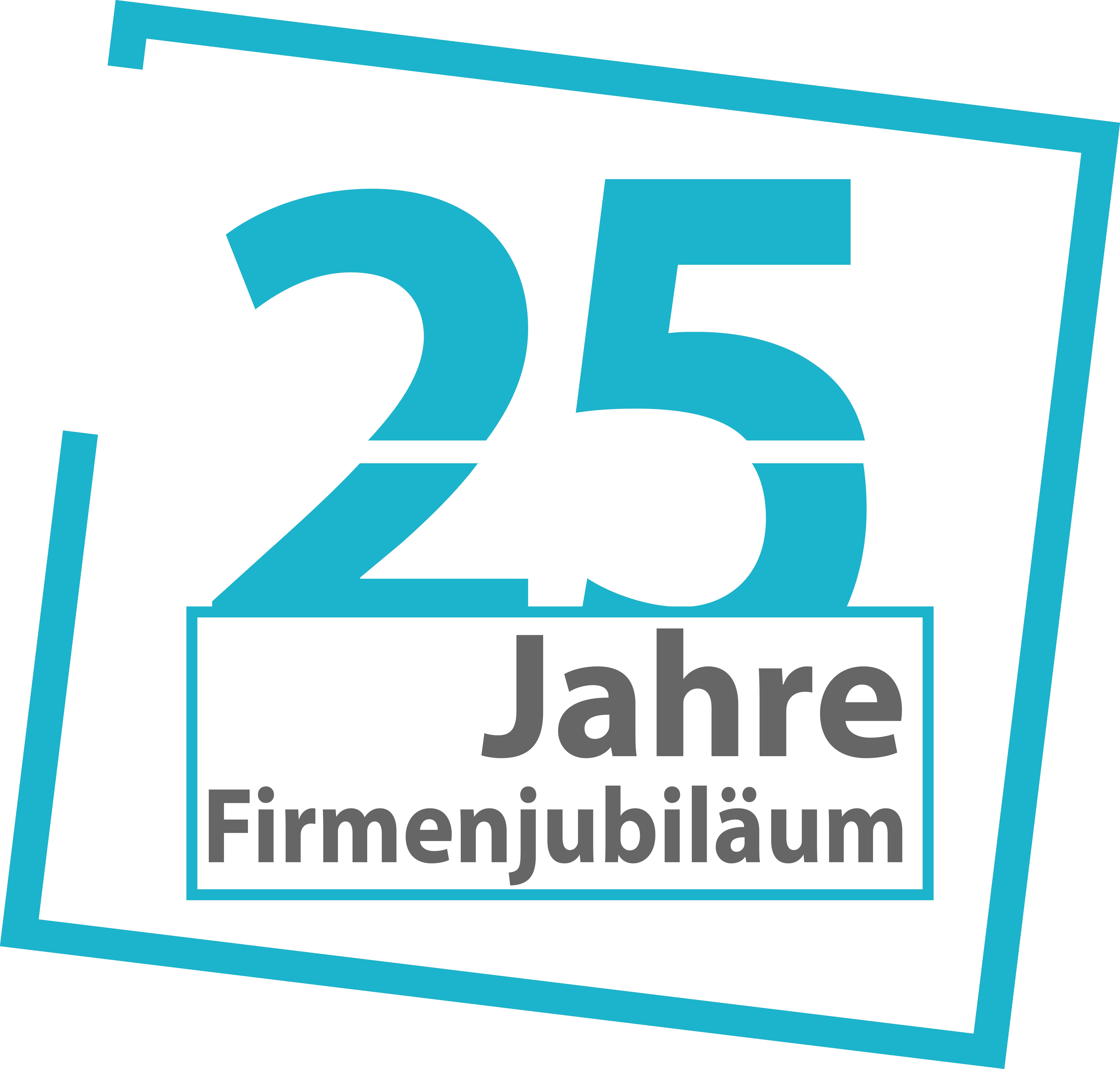 Westerhaus 25 jahre Logo